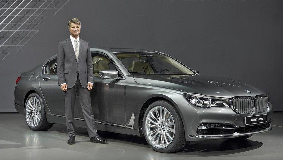Salon de Francfort 2015: BMW Série 7,ou la nouvelle techno allemande