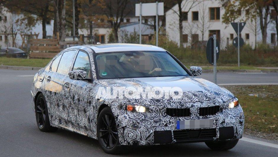 Scoop : la future BMW Série 3 2018 surprise sur la route !