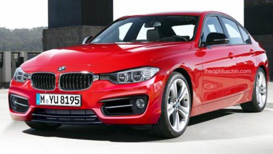 BMW Série 3 restylée façon Theophilus Chin