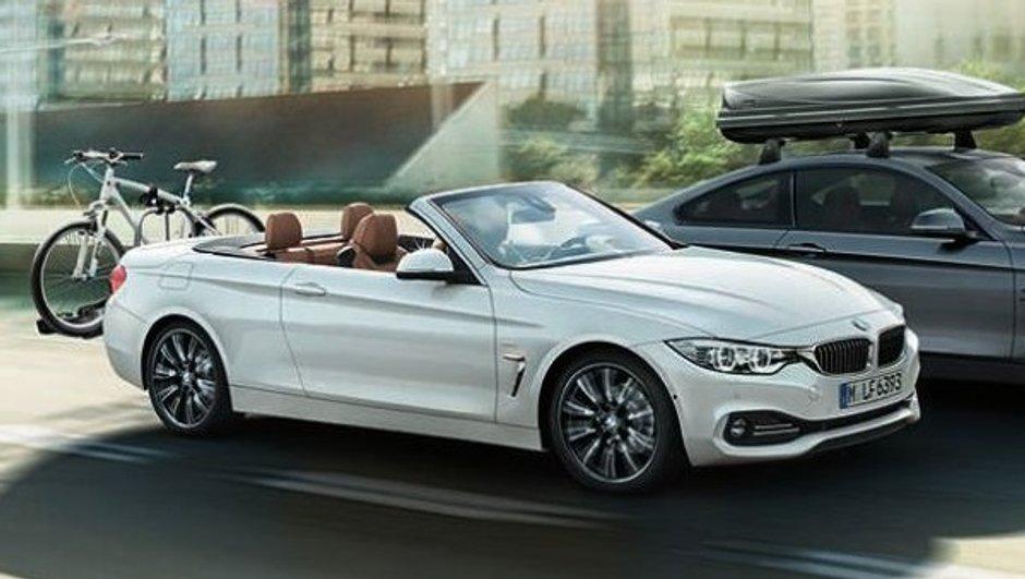 BMW Série 4 Cabriolet 2014 : des photos officielles en fuite