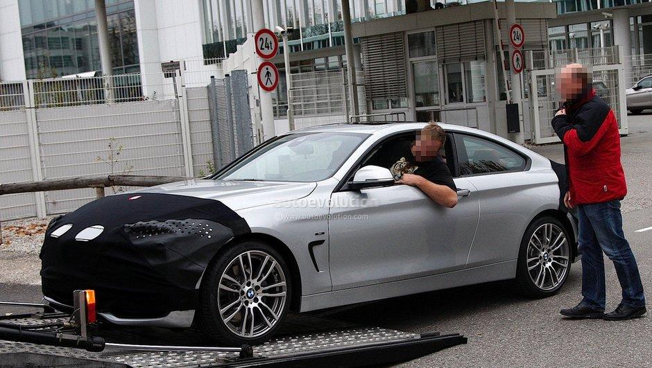 Scoop : le futur BMW Série 4 Coupé 2013 se déshabille