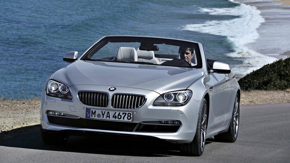 BMW Série 6 Cabriolet, luxe et élégance, cheveux au vent