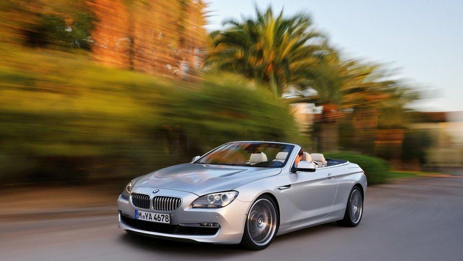 La BMW série 6 cabriolet officiellement dévoilée