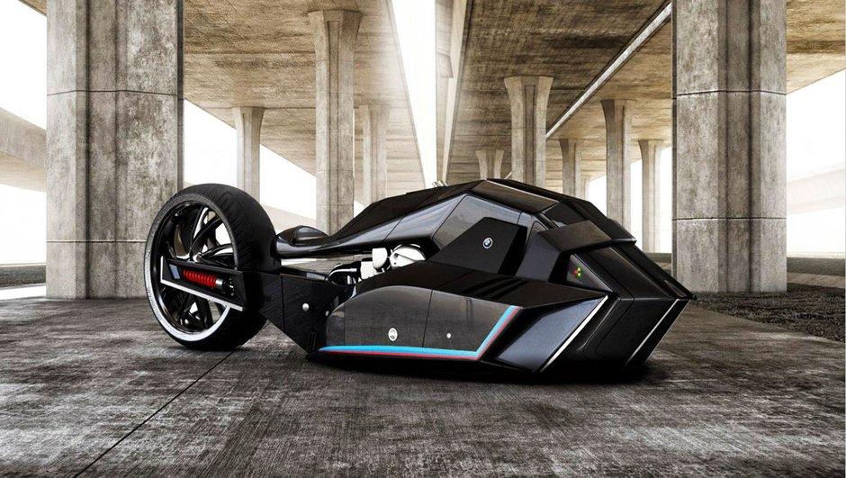 Une moto BMW Titan Concept atteignant les 600 km/h ?