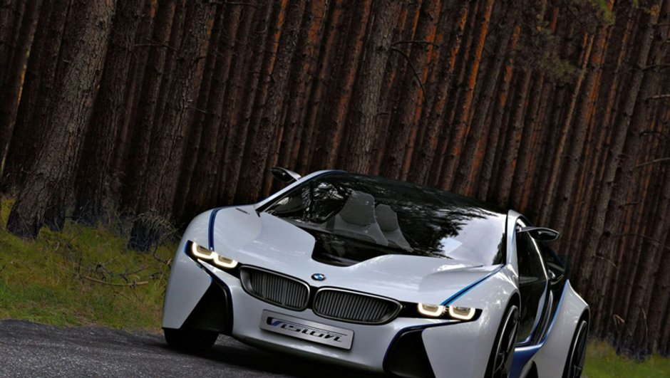 Salon de Francfort 2009 : BMW Vision EfficientDynamics