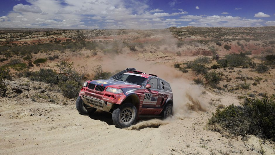 Dakar 2010 : Stéphane Peterhansel s'engage avec BMW X-Raid