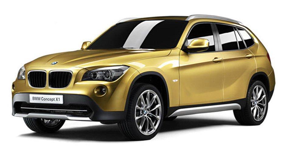 BMW X1 : Premières Photos