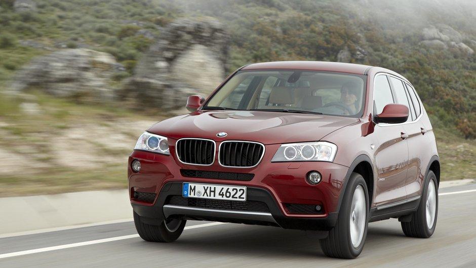 Le nouveau BMW X3 sera un peu plus cher