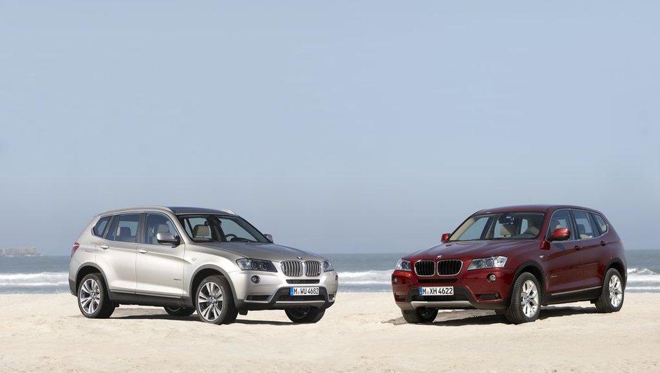 Nouveau BMW X3 : photos et présentation officielle