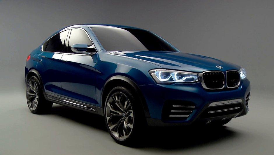 Salon de Shanghai 2013 : BMW X4 Concept 2013 officiel