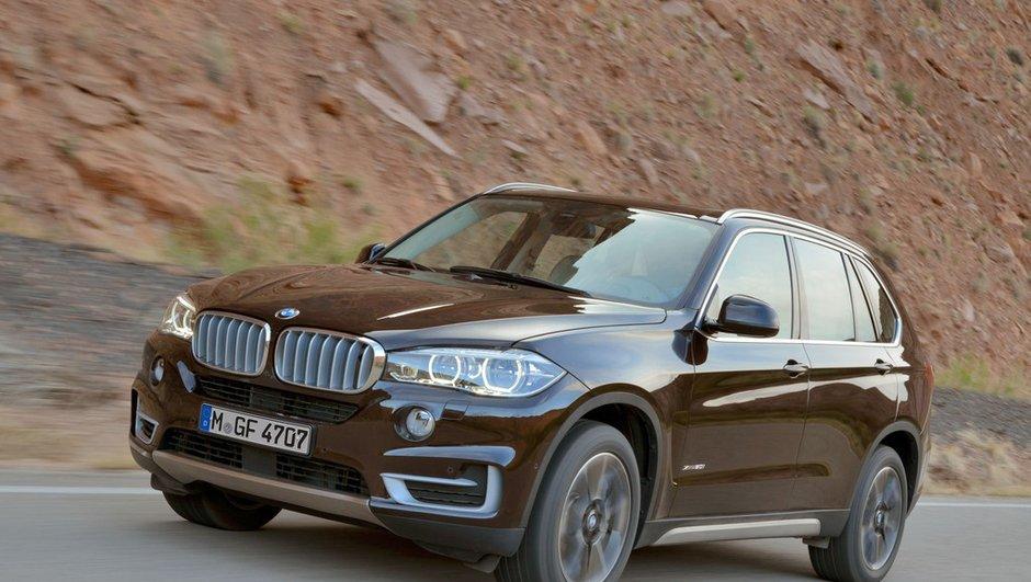 Nouveau BMW X5 2013 : photos et infos officielles