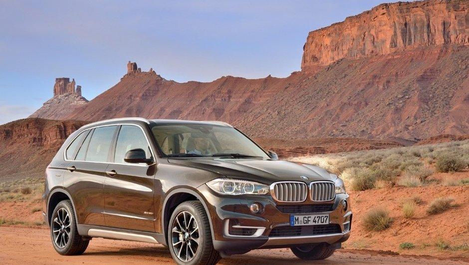 Nouveau BMW X5 2013 : premières photos officielles en fuite