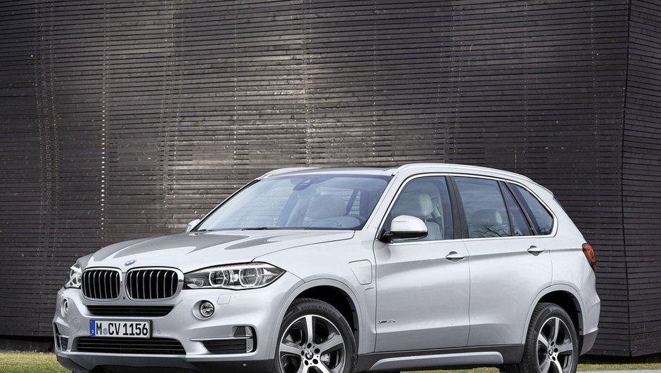 BMW X5 hybride rechargeable : la version xDrive40e disponible à l'automne 2015