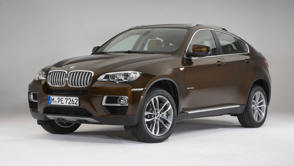 BMW X6 2012 : photos et versions du crossover