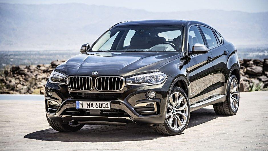 Nouveau BMW X6 2014 : infos et photos de la seconde génération