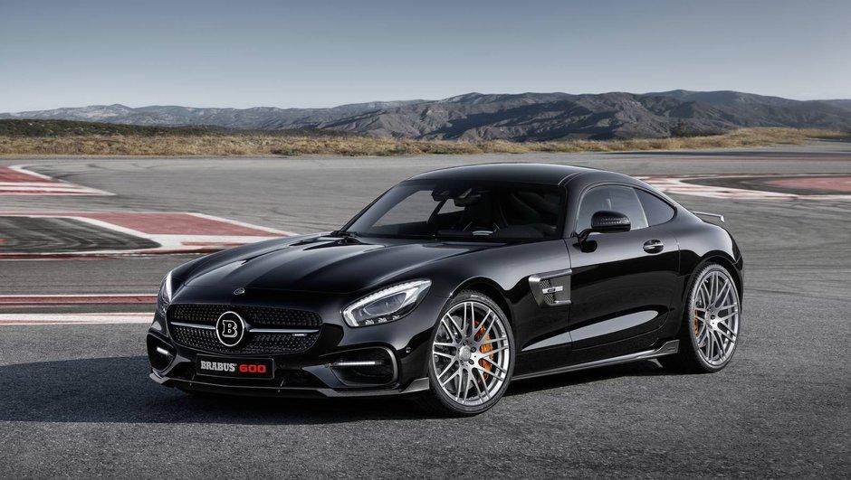 Brabus revisite la Mercedes AMG GT S