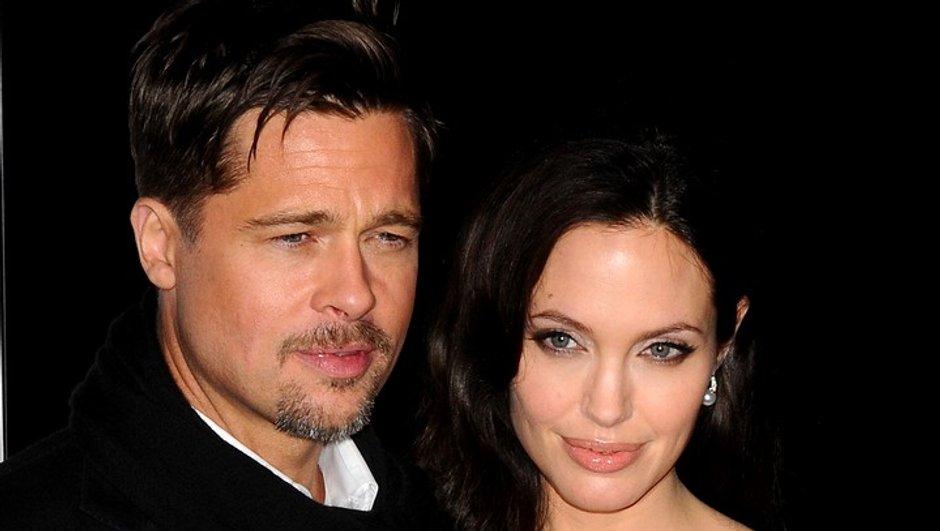 Brad Pitt et Angelina Jolie : en famille à Venise