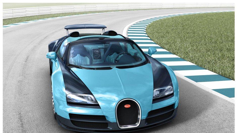 """Bugatti 16.4 Veyron Grand Sport Vitesse : une édition """"Jean-Pierre Wimille"""""""