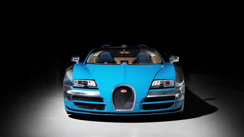 Bugatti : pas de Galibier, mais une Veyron II plus puissante