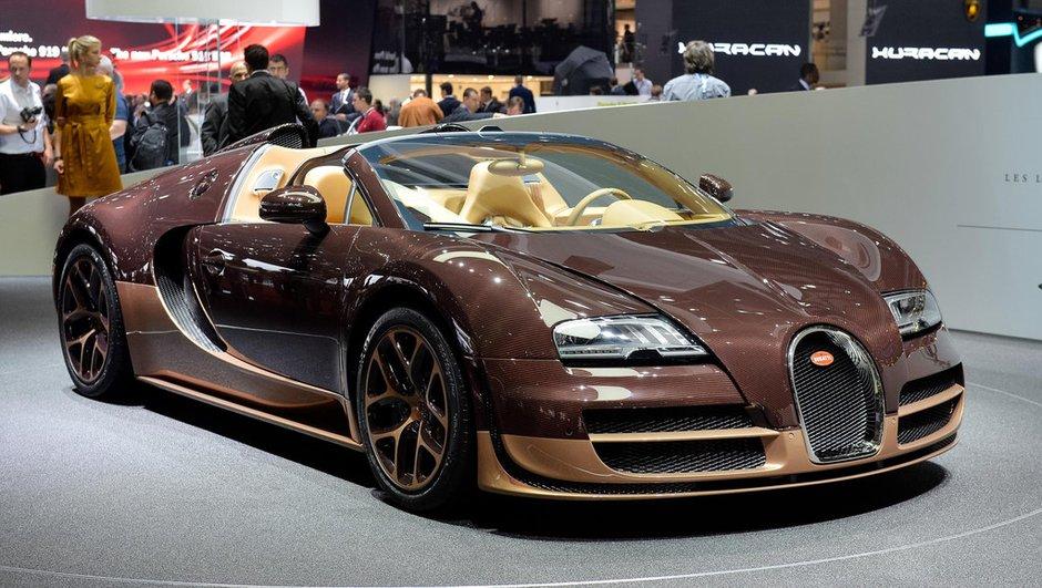 Salon de Genève 2014 : Bugatti Veyron 16.4 Légendes Rembrandt, au nom du frère
