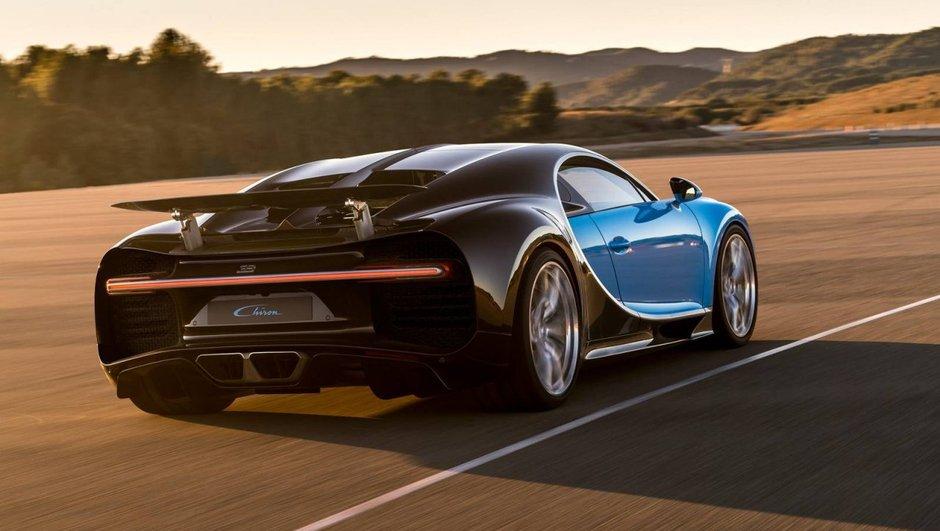 Bugatti : pas de Chiron Roadster mais une berline Galibier ?