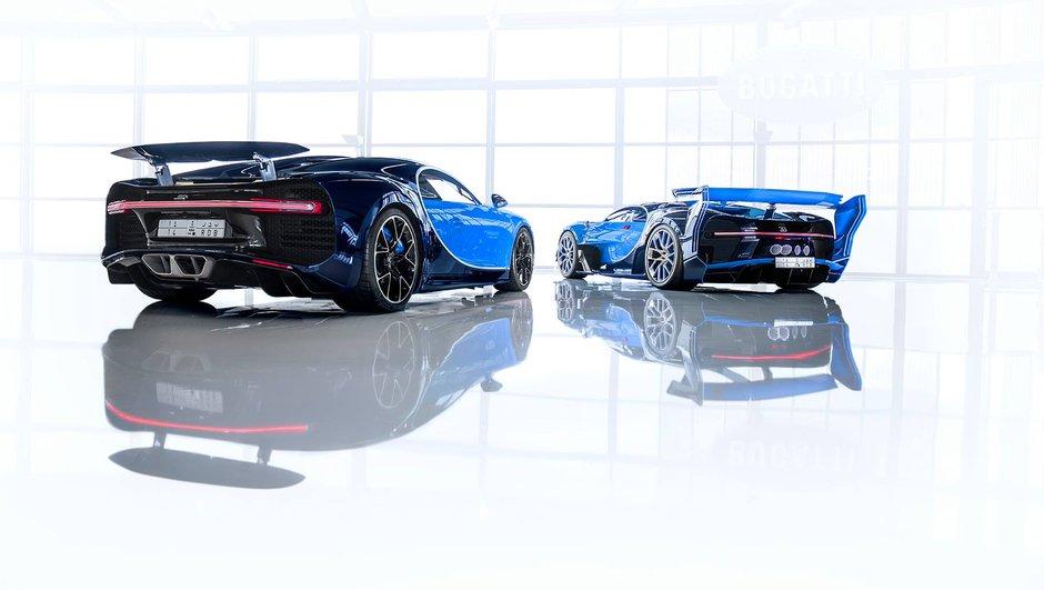 Ces Bugatti Chiron et concept Vision Gran Turismo ont été vendus à un passionné