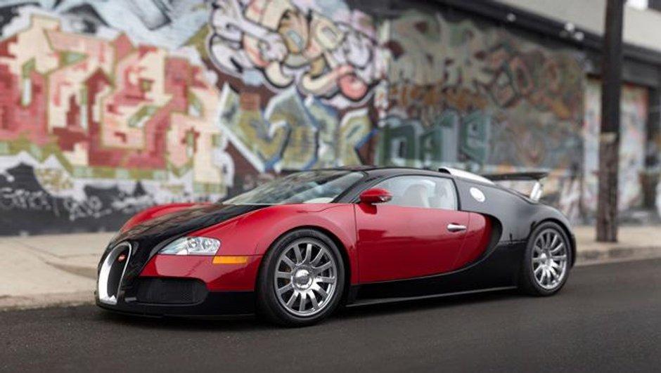 Monterey 2015: La toute première Bugatti Veyron à vendre !