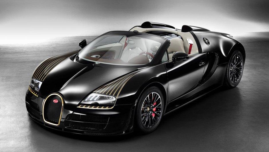 Bugatti Veyron 16.4 Légendes Black Bess 2014 : en noir et or 24 carats