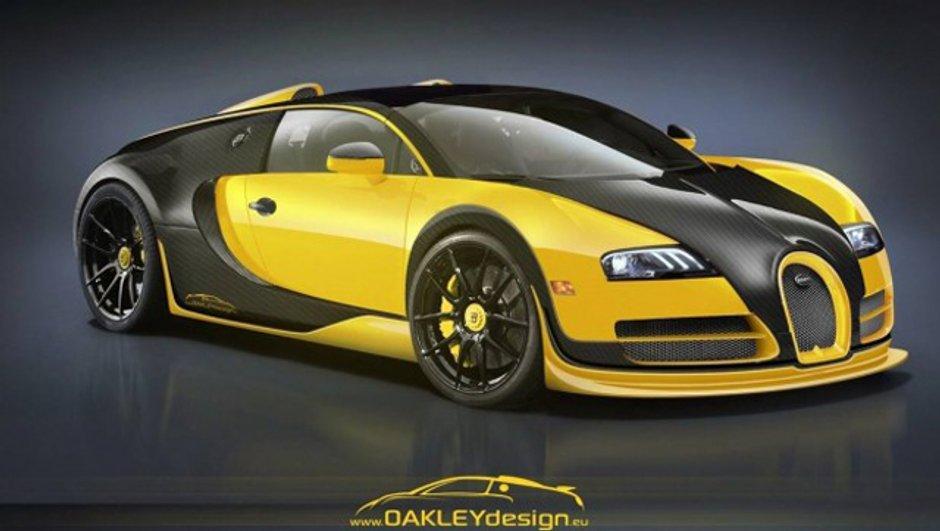 Préparation : La Bugatti Veyron vue par Oakley Design