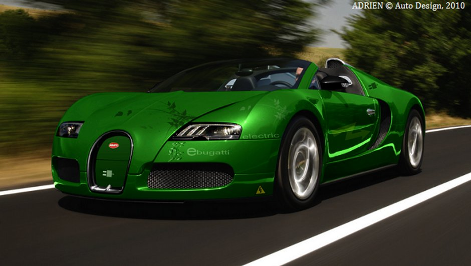 Bugatti Veyron Electrique : la rumeur d'une supercar survoltée !