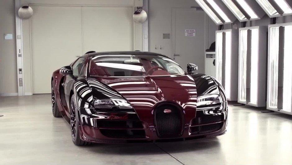 Comment est fabriquée l'ultime Bugatti Veyron la Finale ?