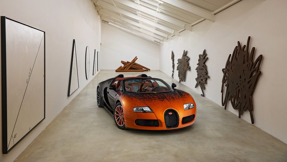 Bugatti Veyron 16.4 Grand Sport Venet : le superc-art