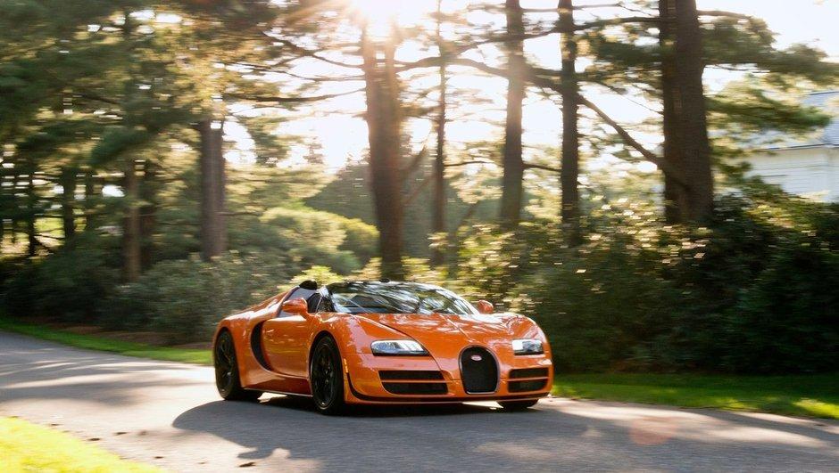 370 km/h au volant d'une Bugatti Veyron Grand Sport Vitesse
