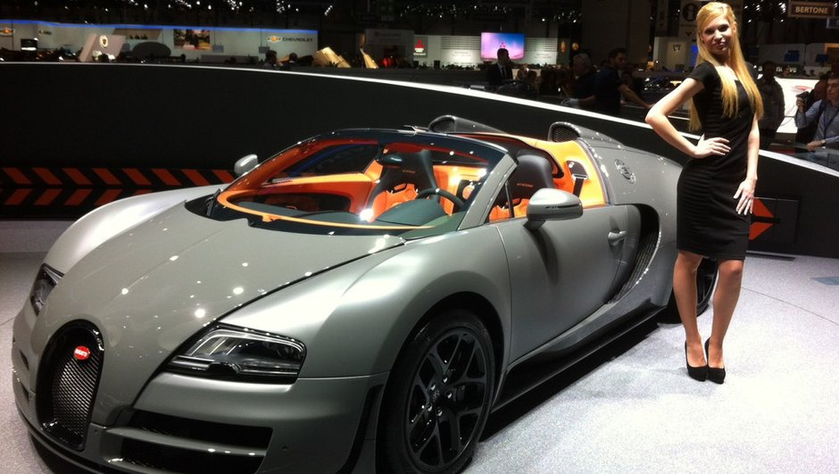 Salon de Genève 2012 : Bugatti Veyron Grand Sport Vitesse, le meilleur des deux mondes