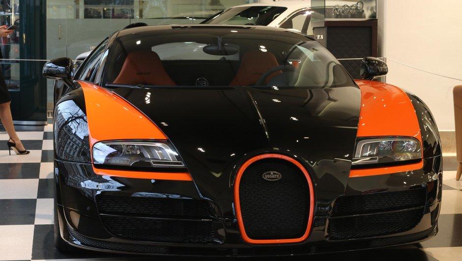 Occasion du Jour : une Bugatti Veyron World Record Edition à vendre