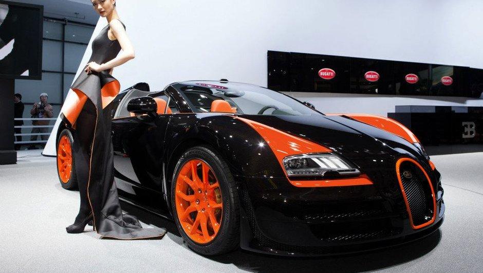 Salon de Shanghai 2013 : Bugatti Veyron GS Vitesse WRC Edition, 2,38 millions d'euros