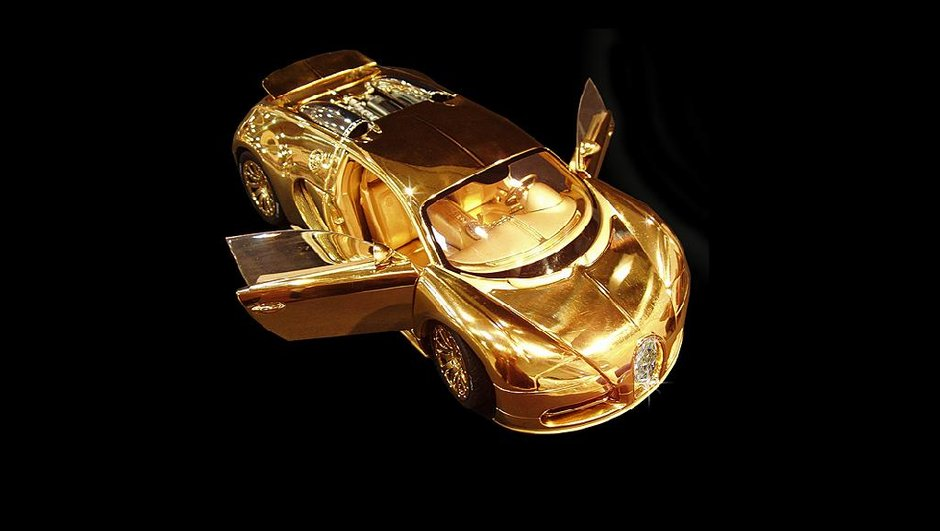 Une Bugatti Veyron en or à 2,4 millions d'euros...miniature