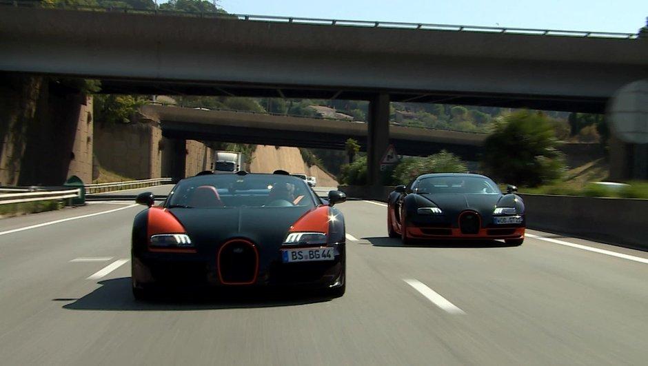 Sommaire : Deux Bugatti record et objectif 400km/h dans l'émission Automoto du 13 septembre 2015