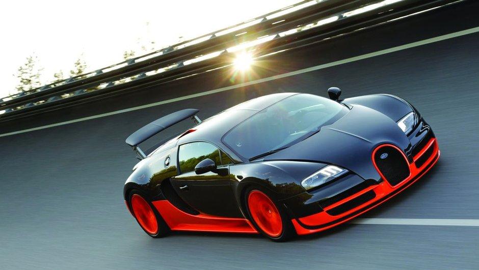 Bugatti Veyron Super Sport : 1.200 chevaux et record du monde de vitesse !