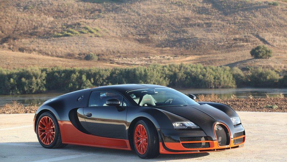 Future Bugatti Veyron 2016 : un moteur hybride de 1.500 ch ?
