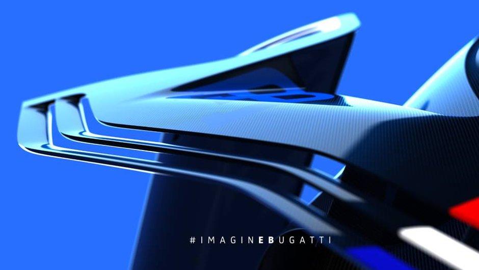 Bugatti Vision Gran Turismo 2015 : nouvelles images avant le Salon de Francfort