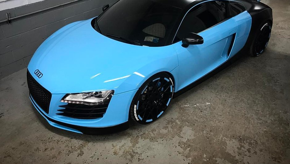 Insolite :  une Audi R8 qui rêvait de devenir Bugatti