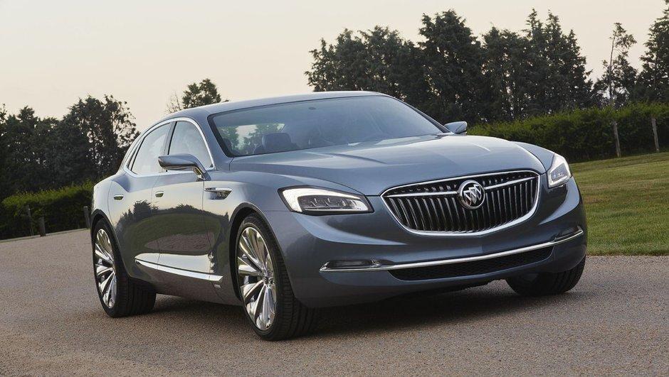 Buick Avenir Concept 2015 : la renaissance du luxe américain à Detroit