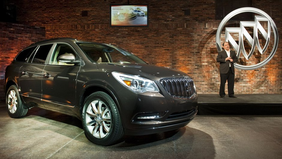 Salon de New York 2012 : Buick Enclave, un crossover se lifte