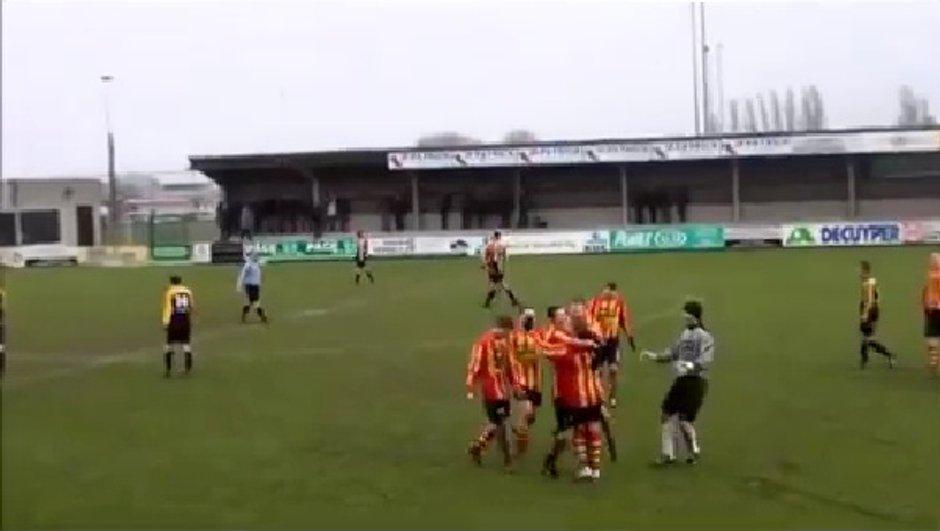VIDEO Insolite : un but de 75 mètres en Belgique !