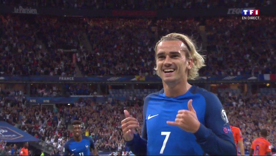 France-Pays-Bas (1-0) : Griezmann ouvre le score !