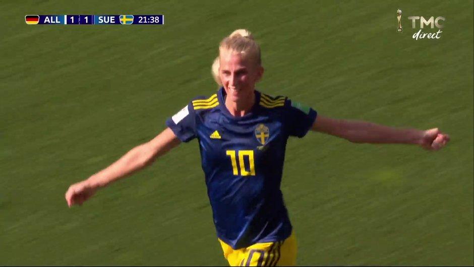 Allemagne-Suède : Le but de Jakobsson en vidéo