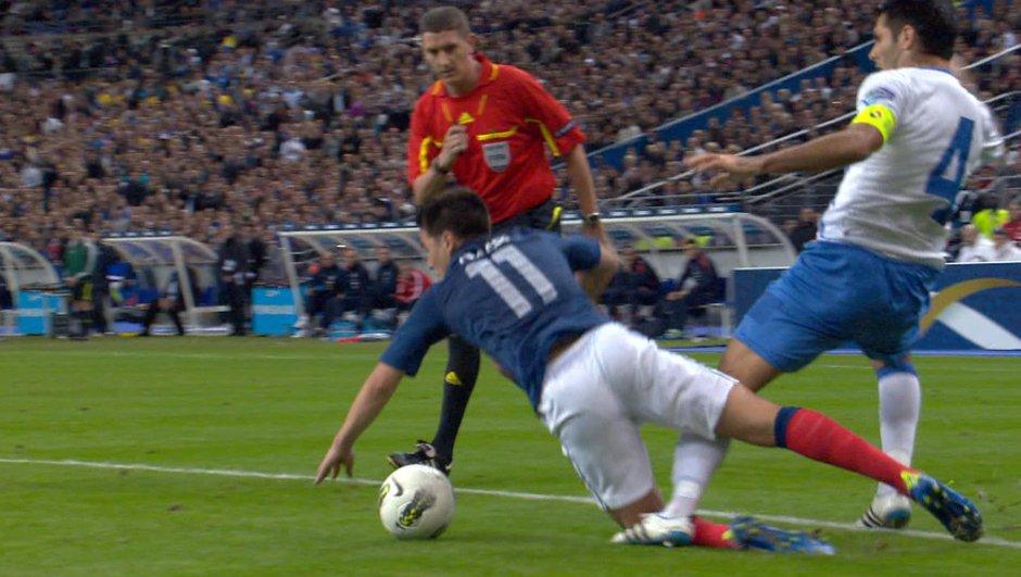 But de Nasri : France 1 - 1 Bosnie, 78ème