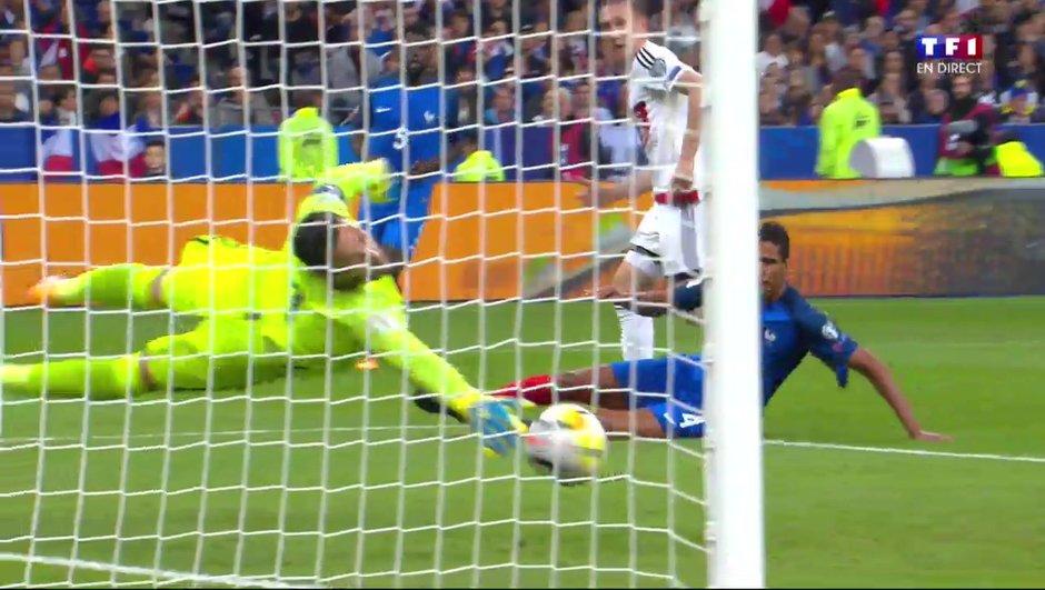 France-Biélorussie (2-1) : Saroka réduit le score !