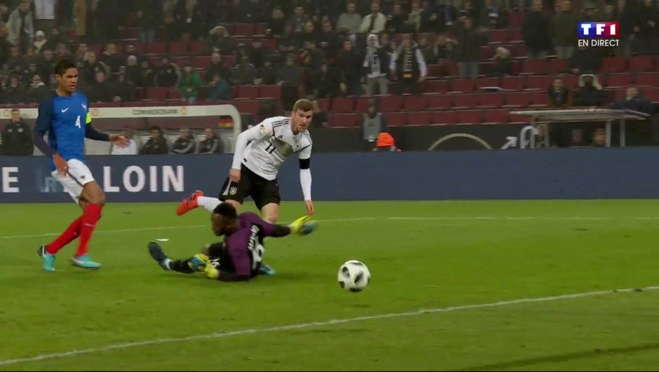 Allemagne-France (1-1) : Werner égalise !